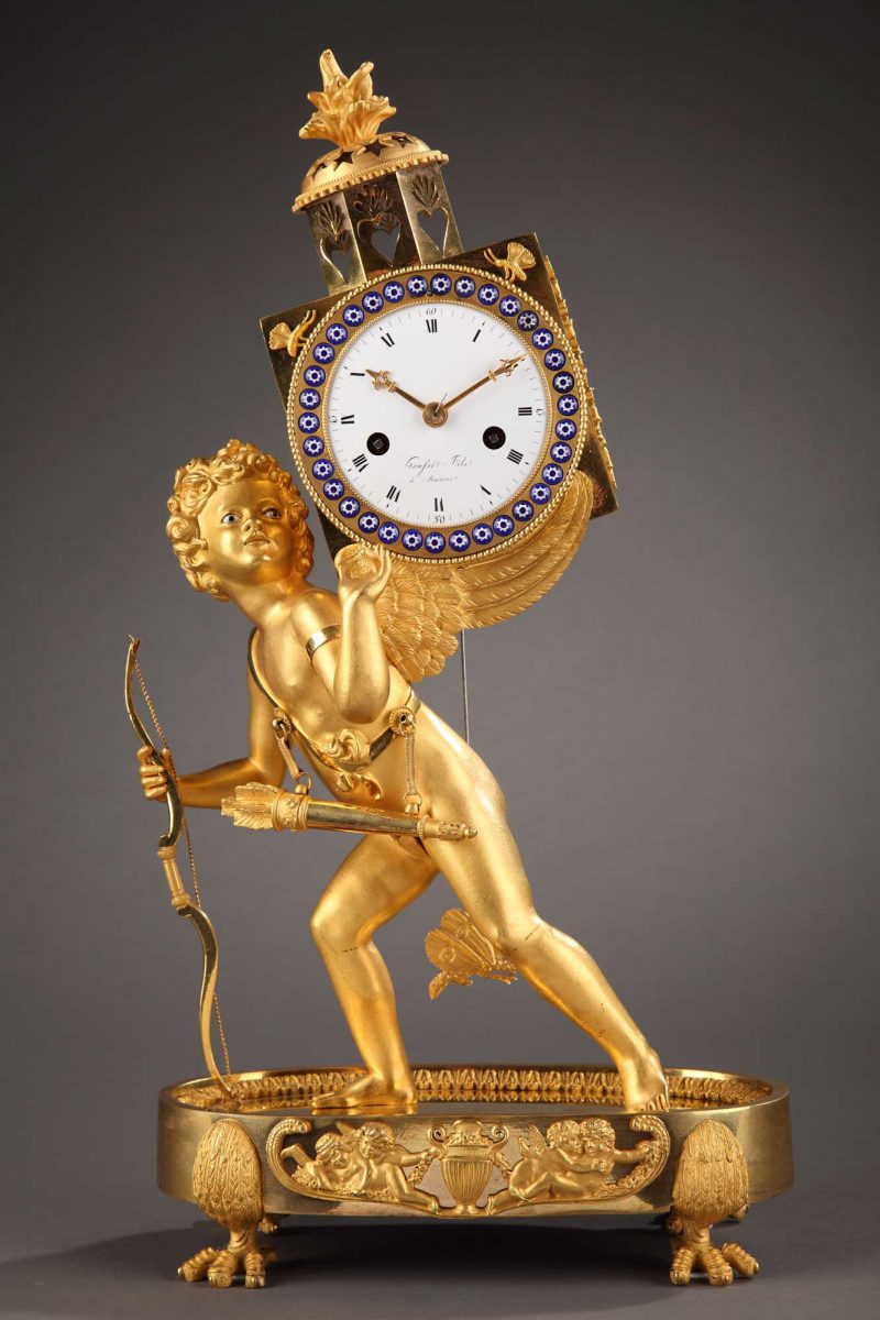 Marchand-d'illusions-Pendule-bronze-antictac